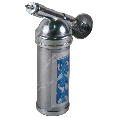 Mini Single Hand Pump Operation 1000psi Grease Gun 80cc Capacity - Brand New Tool