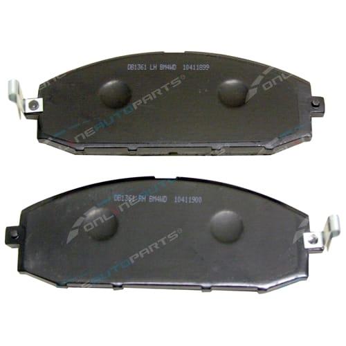Front Disc Brake Pads Nissan Patrol Y61 GU Bendix 4x4 1998-2008 2 wheel set New