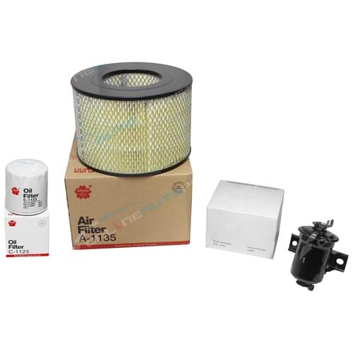 K-11190 Sakura Oil, Air & Fuel Filter Service Kit
