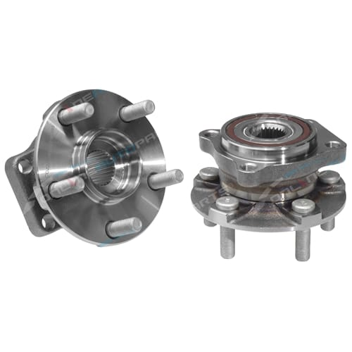 2 x Front Wheel Bearing Hubs suits Subaru Outback BP BR AWD 2003 2004 2005 2006 2007 08 09 10 11 12 13 14 2015