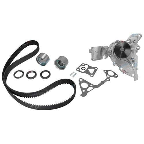 Timing Belt Tensioner Kit + Water Pump Mitsubishi Challenger PA V6 6G72 3.0L 1998 1999 2000 2001 2002 2003 2004 2005 2006