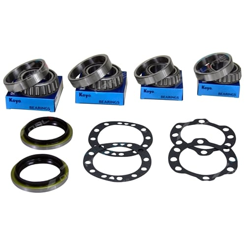 2 Rear Wheel Bearing + Seal Kit suits FZJ75 HZJ70 HZJ73 HZJ75 w/Disc Brake