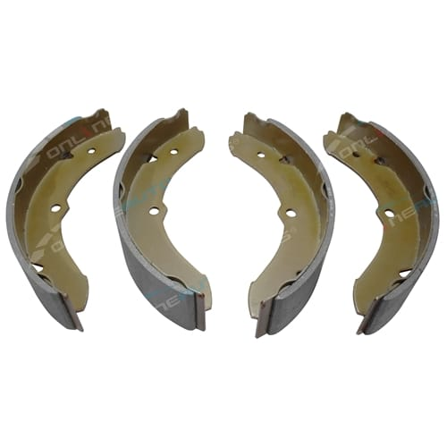 Front Drum Brake Shoes Set suits Toyota Landcruiser 40 Series BJ40 FJ40 FJ45 FJ55 HJ45 HJ47 1971 to 1984