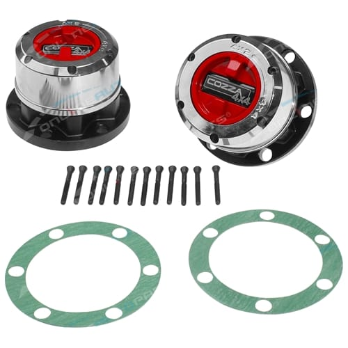 Set of 2 Free Wheeling Hub Cozza 4x4