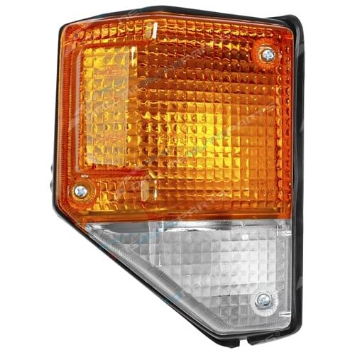 Front RH Black Corner Lamp Light suit Landcruiser BJ70 BJ73 FJ70 FJ73 FJ75 FZJ75 Toyota Right Hand 1984 to 1999