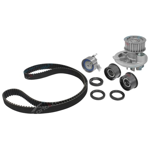 Timing Belt+Tensioner Kit with water pump suits Holden Vectra JS C22SEL 2.2L 1998 1999 2000 2001 2002 2003