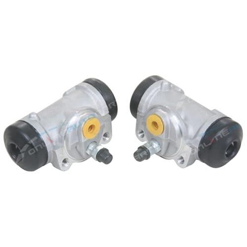2 Rear Brake Wheel Cylinders suits Toyota Hiace Van Petrol & Diesel 2005 to 2014