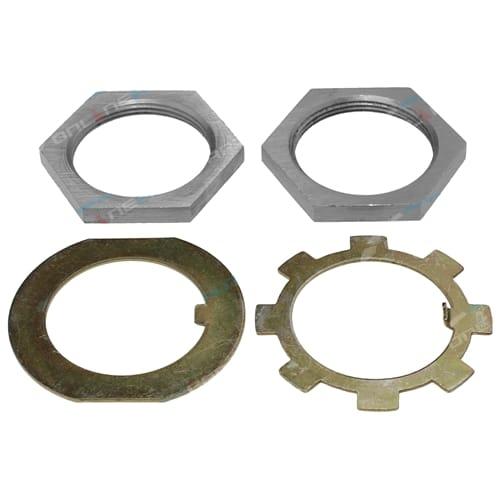 Front Axle Lock Nut + Washer Kit suits Suzuki Sierra LJ SJ Models + Jimny SJ30 SJ40 SJ50 SJ70 SJ80 SJ410 SJ413