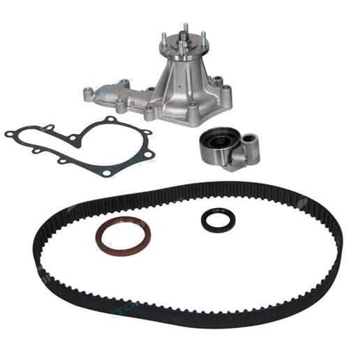 Timing Belt + Water Pump Kit suits Toyota Landcruiser HZJ78 HZJ79 HZJ105 1HZ Tensioner 4.2L Diesel