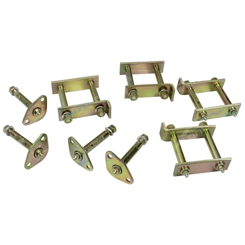 Greasable Shackle + Pin Kit suits Toyota Landcruiser 40 Series FJ40 BJ40 4wd 1960 to 1979