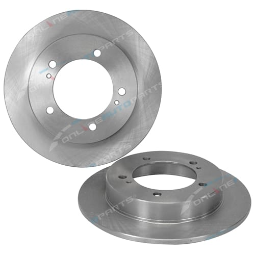 2 Front Disc Brake Rotors fits Suzuki Sierra SJ80 Coily 1996 to 1998