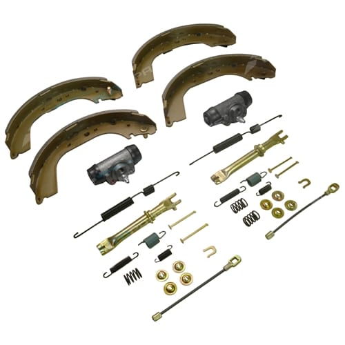 Brake Shoes, Wheel Cylinders & Hardware Kit suits Toyota Hilux LN106 LN107 LN111 1988 to 1999