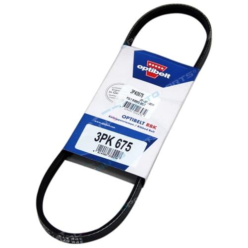 3PK0675 Fan Drive Belt OptiBelt