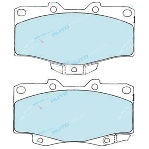 Bendix 4x4 Front Disc Brake Pad Set suits Toyota Hilux 11/1988 to 2005 4x4 Ute Various Models 1990-2005 New 4wd Compound - DB1149