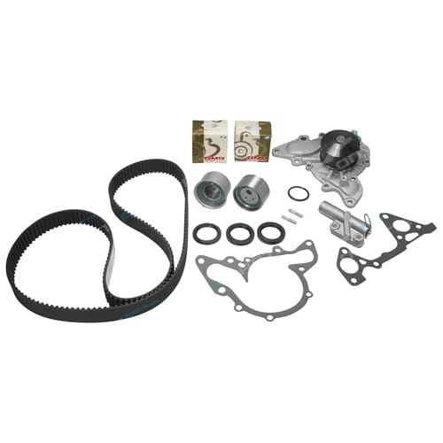 Timing Belt Tensioner Kit + W/Pump Mitsubishi 380 DB 05~08 V6 6G75-S4 3.8L Engine