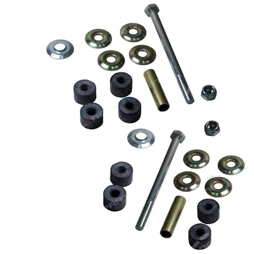 L&R Rear Link Pin + Bush Kit Mitsubishi Pajero NH NJ NK NL Suspension 6/1991 to 2000