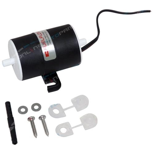12 volt Marine Grade Electric Fuel Pump 1.5 LPM 4-5 psi FuelFlow - Universal Style