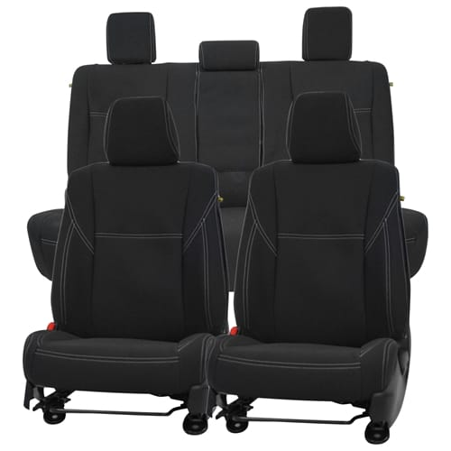 Front And Rear Seat Cover Set Seat Cover Set Aftermarket