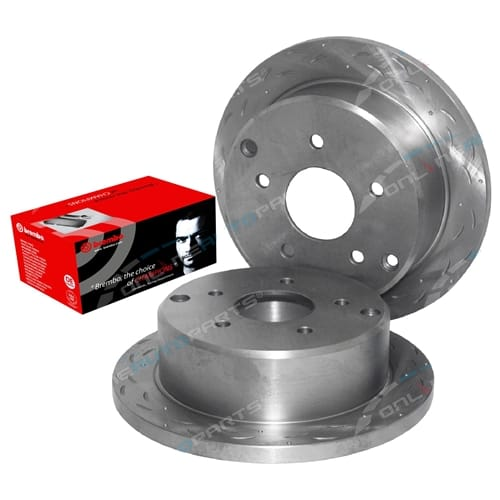 ZPN-19863 Disc Rotor + Brake Pad Tora + Brembo suits Holden (HSV) XU6 VX Series I