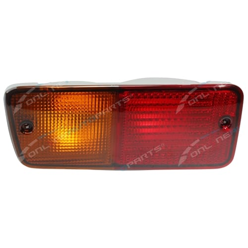 Left Hand Rear Bar Light Lamp Lenses suits Nissan Patrol GQ GU Wagon 1991 to 2016