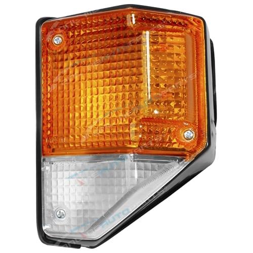 Front LH Black Corner Lamp Light suit Toyota Landcruiser HJ75 HZJ70 HZJ73 HZJ75 Left Hand 1984 to 1999