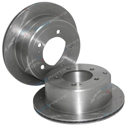 Disc Rotor (Rear LH or Rear RH) Tora