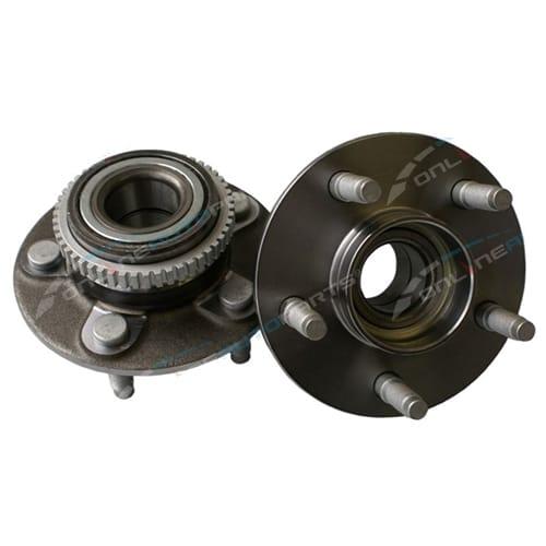 2x Front Wheel Bearing Hub + Nut Kit AU BA BF XR XT XL RTV XLS SR XR6 XR8 Ghia