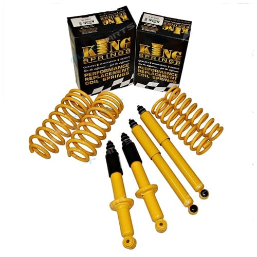 35mm Suspension Lift Kit suits Toyota Prado RZJ95 VZJ95 KZJ95 Coil Shocks 90 85 Series 1996 to 2003