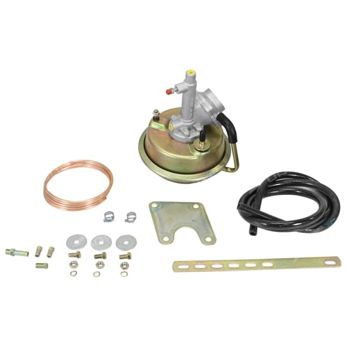 VH44 Remote Brake Booster+Bracket Mounting Kit suits - 4 wheel Drum Brake Models Gold Look