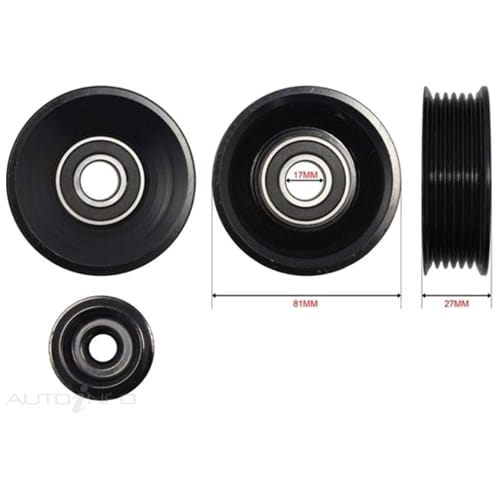 Engine Pulley (Upper Top) Aftermarket OEM Replacement