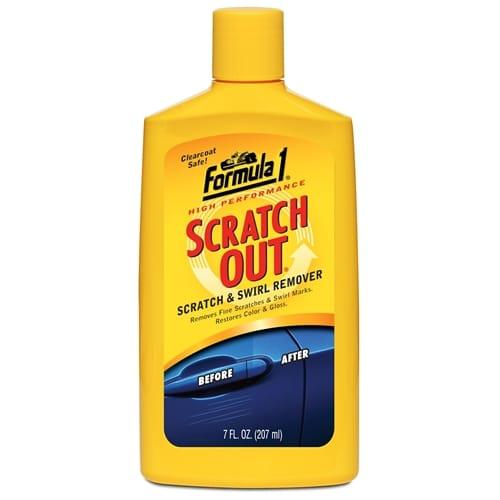 Formula 1 Paint Scratch Out Liquid Swirl Haze Remover Restorer 8oz /273ml 165011