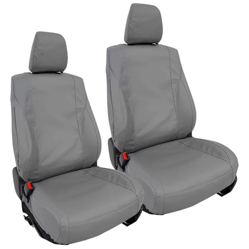 Front Heavy Duty Canvas Car Seat Covers suits Toyota Hilux TGN121R TGN16R TGN26R 2004 to 2015