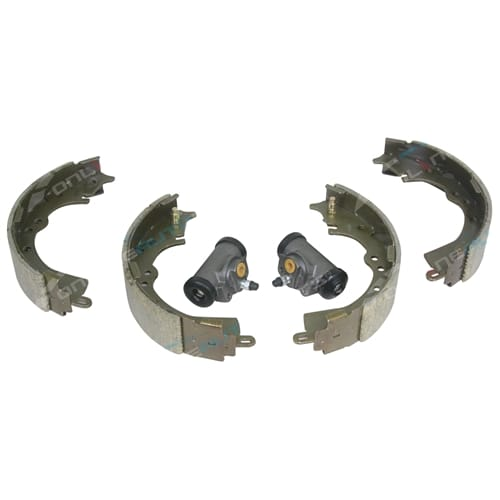 2 Rear Brake Shoe Set Hilux GGN15 KUN16 TGN16 2005-2014 2WD + 2 Wheel Cylinders