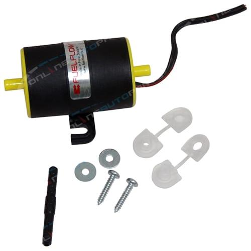 12 volt Motor Bike Low Volume Electric Fuel Pump 1.5psi