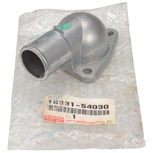 Genuine Toyota Thermostat Housing suits Hilux LN85 4cyl 2.4L 2L-II Diesel 88~94
