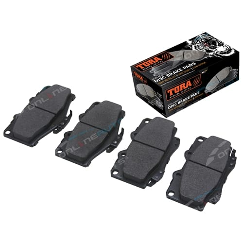 Front Disc Brake Pad Set suits Toyota Hilux 4x4 11/1988-2005 Disc Rotor Models