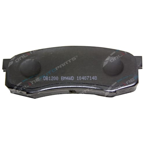 Bendix 4x4 Rear Disc Brake Pad Set Prado 1993-2012 90 95 120 150 GRJ KZJ RZJ KDJ