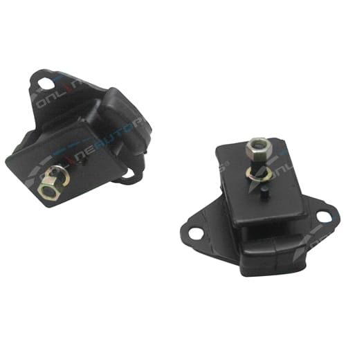 2 Engine Mounts suits Toyota Hilux 4Runner YN130 4cyl 4Y-E 2.2ltr 2237cc 1989 to 1990