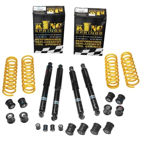 Suzuki Jimny 1998-2016 40mm Spring Lift Kit with Castor + Full Suspension Bush