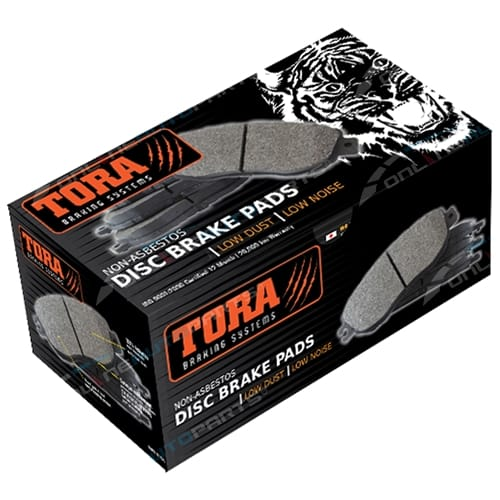 Tora Front Disc Brake Pad Set suits Proton Persona 1.3L 1.5L FWD Hatchback Sedan 1996 1997 1998 1999 2000 2001 2002 2003 2004 2005