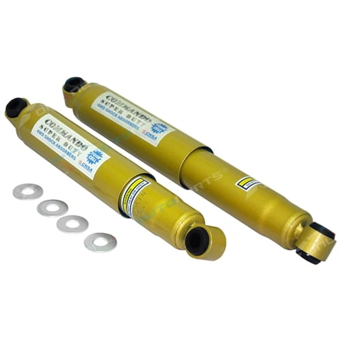 2 Rear Foam Cell Shock Absorbers Challenger PA 4x4 1998 1999 7/2000 4wd 4door Mitsubishi Wagon