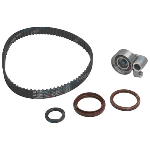 Timing Belt Kit suits Coaster HZB50R 1997-2003 6cyl 1HZ 4.2L Diesel SOHC Gates incl Tensioner