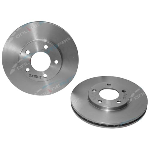 2 x Front Disc Brake Rotors Pair suits Chrysler Grand Voyager GS FWD 1997 1998 1999 2000