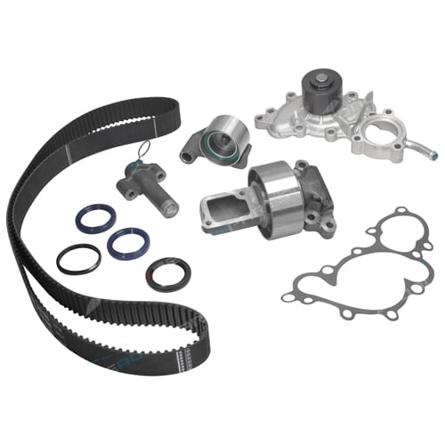 Timing Belt Hyd Tensioner Water Pump Kit VZN130 V6 4Runner Hilux Surf 8/1992-1996 3VZ-FE Toyota