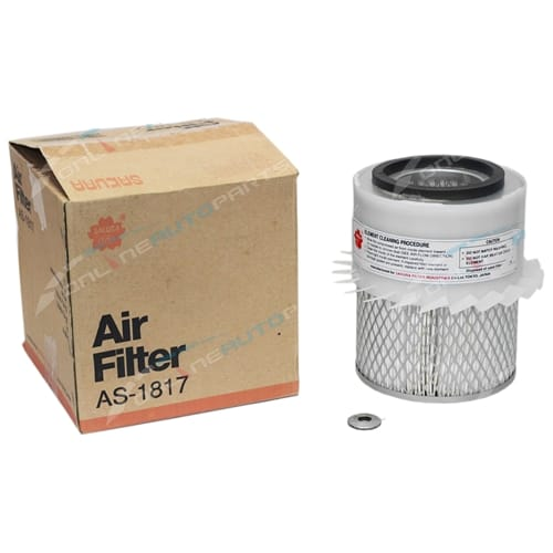Sakura Air filter Cleaner FAS-1817 Interchangeable with Ryco A334