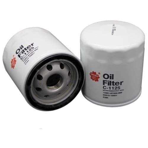 Set of 4 Oil Filter Sakura