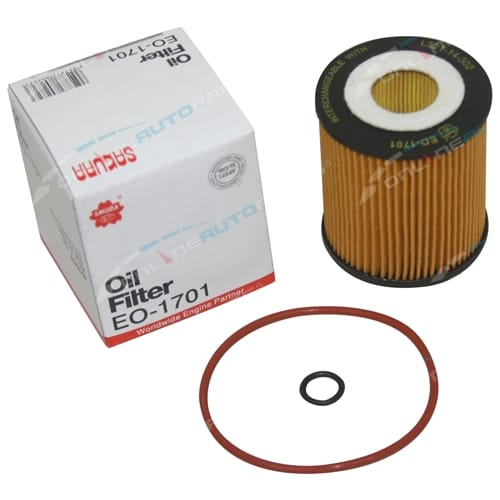 Sakura Engine Oil Filter suits Mazda 6 GG GH GY 4cyl 2.3L 2.5L 2002 2003 2004 2005 2006 2007 2008 2009 2010
