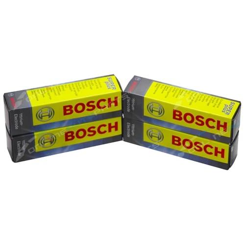 Bosch Spark Plug Set Audi A4 B6 B7 ALT 2.0L 4cyl 1984cc 2001 2002 2003 2004 2005 2006 2007 2008