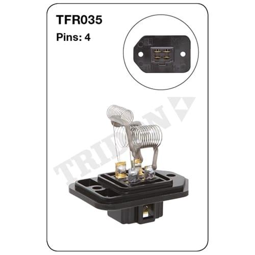 TFR035 Tridon Heater Fan Resistor