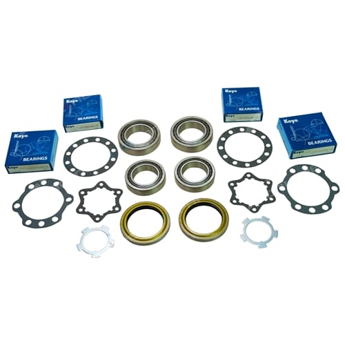 2 Front Wheel Bearing Kit suits Toyota Hilux 4wd Leaf Spring all around models 4x4 Ute 1979 to 1999